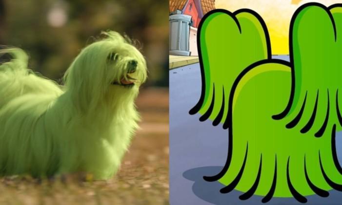 Cachorro do Cebolinha